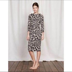 Boden Leopard Print Marisa Dress, Size 8